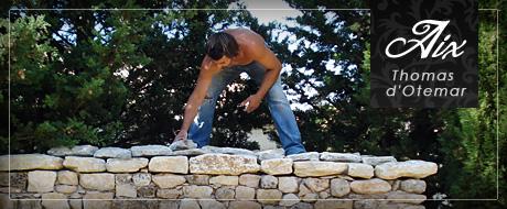 Entreprise mur en pierre Aix en Provence